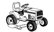 MTD 999 lawn tractor photo