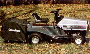 White T-802 lawn tractor photo