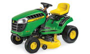 John Deere E100 lawn tractor photo