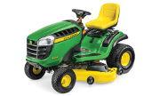John Deere E150 lawn tractor photo