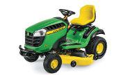 John Deere E160 lawn tractor photo