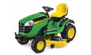 John Deere E170 lawn tractor photo
