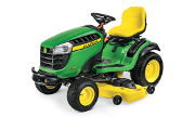John Deere E180 lawn tractor photo