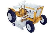 Gilson 939 Commander 600 lawn tractor photo