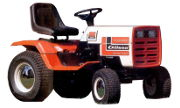 Gilson 53080 GT18HE lawn tractor photo