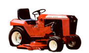 Wheel Horse C-161 Twin lawn tractor photo