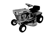Yard-Man 3380 lawn tractor photo