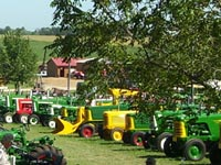 Oliver and Hart-Parr were the featured tractors for 2010.