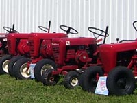 The North Central Wheel Horse Events Club brought a large display of equipment.