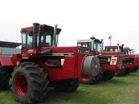 Four-wheel drive International tractors