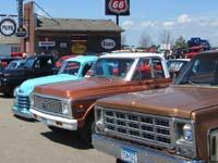 Classic Chevy pickup trucks
