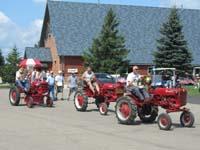 International Farmall Cub tractors