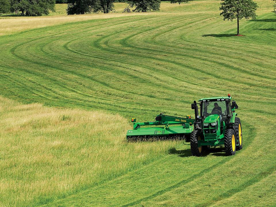 Tractordata Com Deere Expands 6 Series Tractor Line