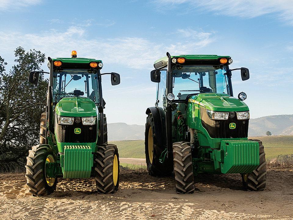 John Deere 100 Series >> TractorData.com - New Deere 5G Specialty Tractors