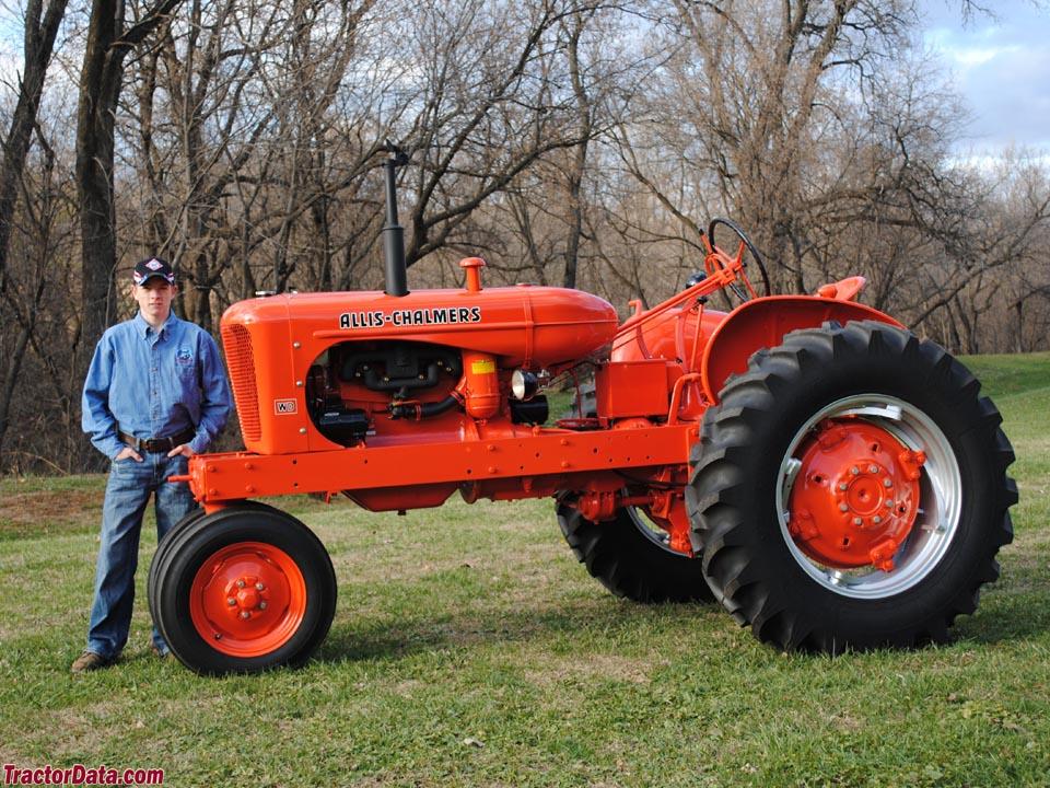 TractorData.com Allis Chalmers WD tractor photos information