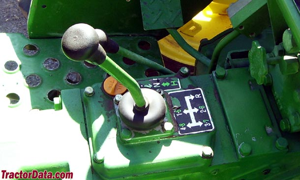 John Deere 950  transmission photo