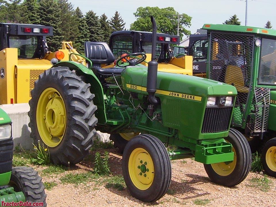 Tractordata Com John Deere 950 Tractor Photos Information