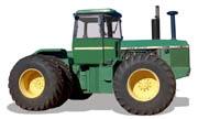 John Deere 8640 tractor photo