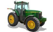 John Deere 7810 tractor photo