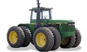 John Deere 8650 tractor photo