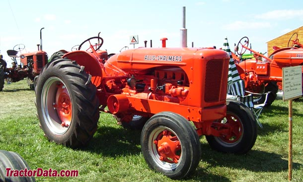 Streamlined Allis-Chalmers WF