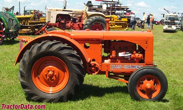 Original (unstyled) Allis-Chalmers WF