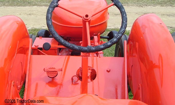 Allis Chalmers WF  transmission photo