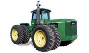 John Deere 8850 tractor photo