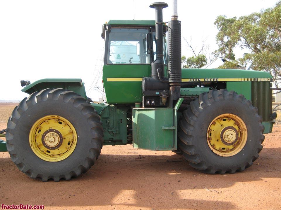 Tractordata Com John Deere 8850 Tractor Photos Information