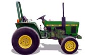 John Deere 750 tractor photo