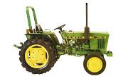 John Deere 750 tractor photo