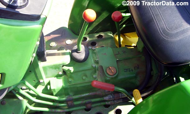 John Deere 750  transmission photo