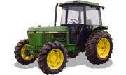 John Deere 2550 tractor photo