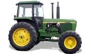 John Deere 4250 tractor photo