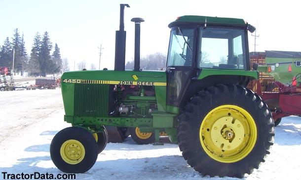 John Deere 4450, left side