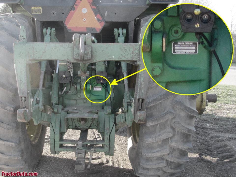 TractorData.com John Deere 4850 tractor informationTractorData.com