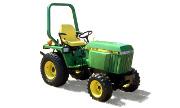 John Deere 755 tractor photo