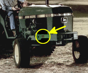 Tractordata John Deere 2355 Tractor Information. Photo Of 2355 Serial Number. John Deere. 2355 John Deere Electrical Diagram At Scoala.co