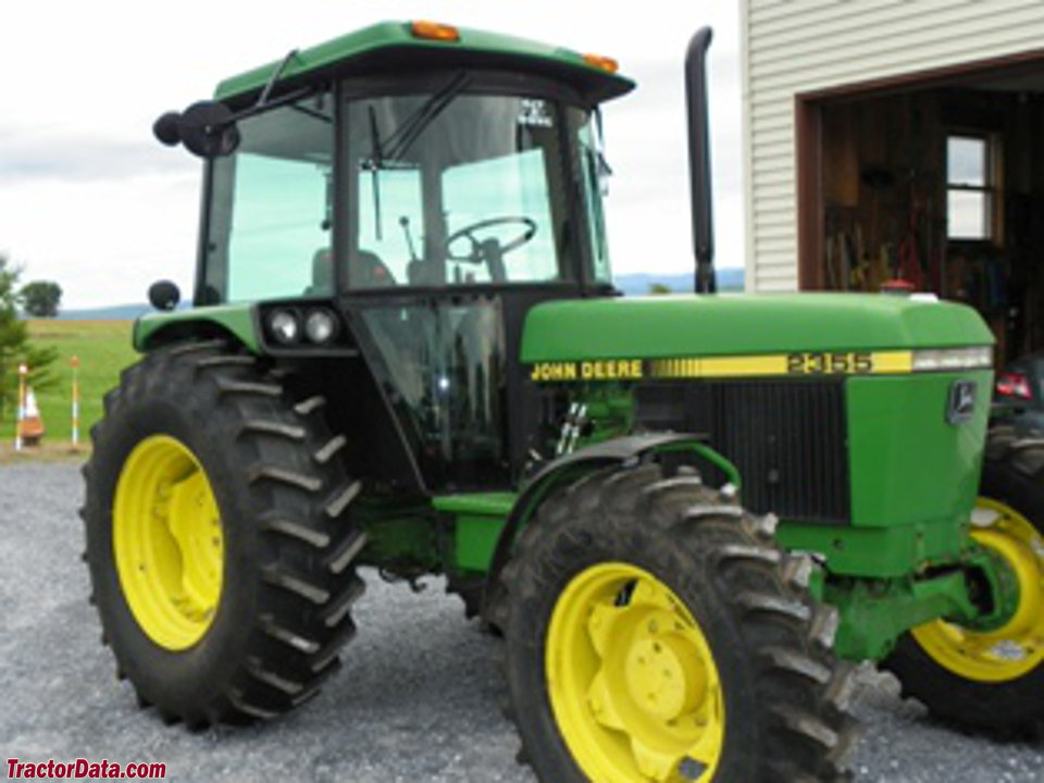 John Deere 2355 with 4WD and cab.