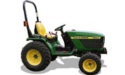 John Deere 4100 tractor photo