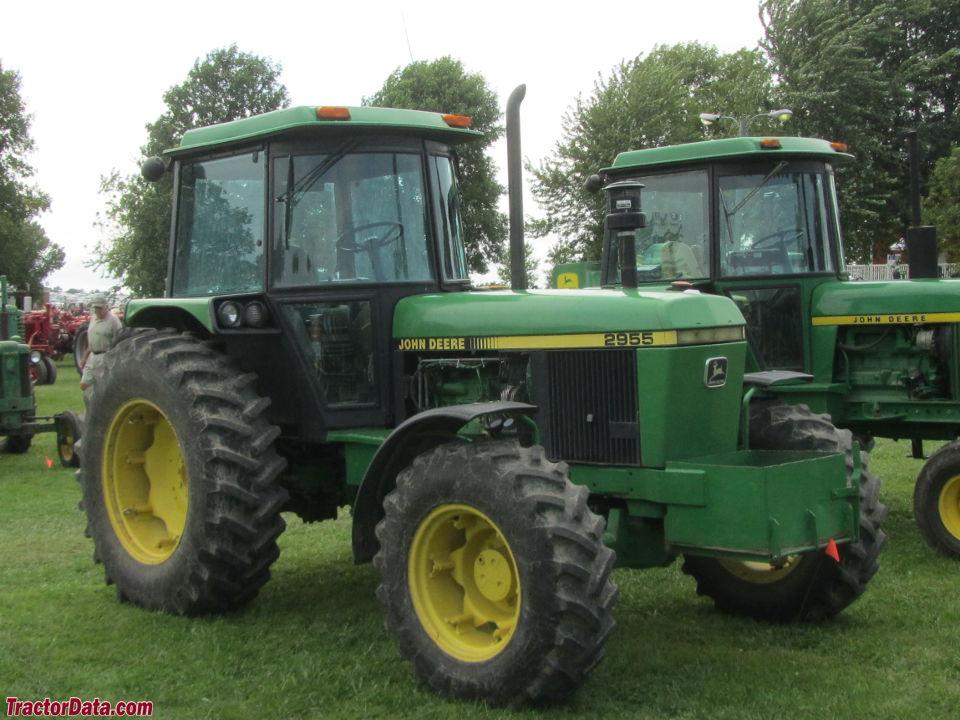 Tractordata Com John Deere 2955 Tractor Photos Information