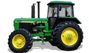 John Deere 4055 tractor photo