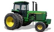 John Deere 4255 tractor photo
