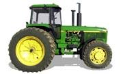 John Deere 4955 tractor photo