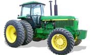 John Deere 4555 tractor photo