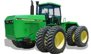 John Deere 8560 tractor photo