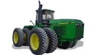 John Deere 8960 tractor photo