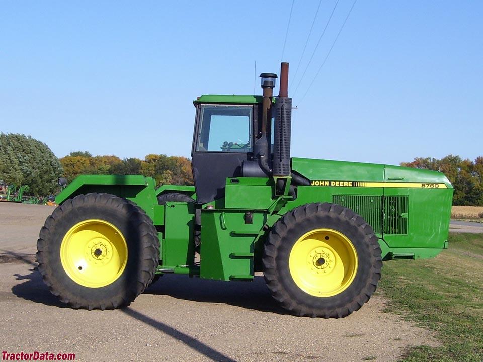 TractorData.com John Deere 8760 tractor photos inf