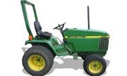 John Deere 670 tractor photo
