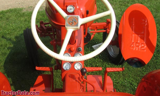Allis Chalmers D12  transmission photo